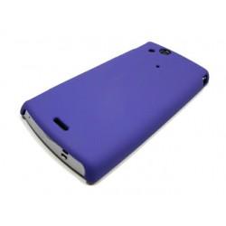 Чехол HARD CASE для Sony-Ericsson Xperia X12 Arc /синий/