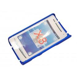 Чехол HARD CASE для Sony-Ericsson Xperia X8 /синий/