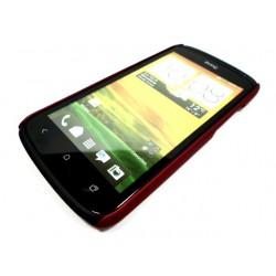 Чехол HARD CASE для HTC One X /бордовый/