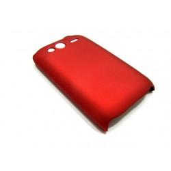 Чехол HARD CASE для HTC Wildfire S /бордовый/