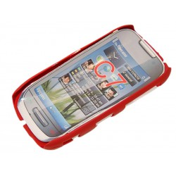 Чехол HARD CASE для Nokia C7 /бордовый/