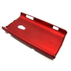 Чехол HARD CASE для Sony-Ericsson Xperia X10 /бордовый/