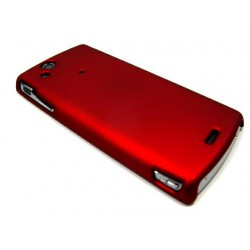 Чехол HARD CASE для Sony-Ericsson Xperia X12 Arc /бордовый/