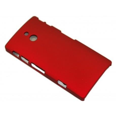 Чехол HARD CASE для Sony Xperia P /бордовый/