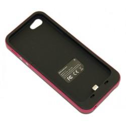 Чехол с аккумулятором для iPhone 5 Mophie /2000mAh/малиновый/