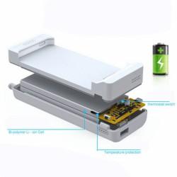 Чехол-аккумулятор для iPhone 6 + Внешний аккумулятор для портативных устройств /13200mAh/ золотой