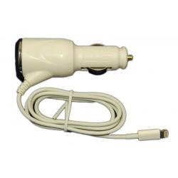 Автомобильное зарядное устройство для Apple iPhone 5, iPad mini /5V 1A/