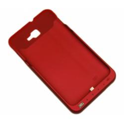 Чехол с аккумулятором для Samsung N7000 Note /3000mAh/красный/