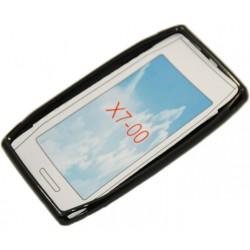 """Чехол силиконовый """"BLACK PEARL"""" для смартфона Nokia X7"""