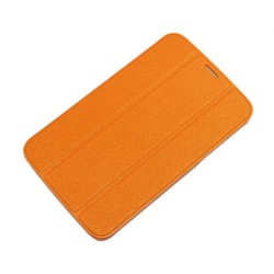 "Чехол для Samsung Galaxy Tab3 T2100 ""SmartBook"" /оранжевый/"