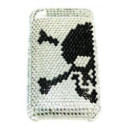 Прозрачный чехол со стразами №24 Apple iPhone 3G / 3GS
