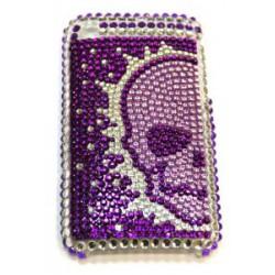 Прозрачный чехол со стразами №32 Apple iPhone 3G / 3GS