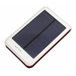 """Портативный внешний аккумулятор """"Smart POWERBANK"""" на солнечной батарее с фонариком / емкость 15000mAh"""